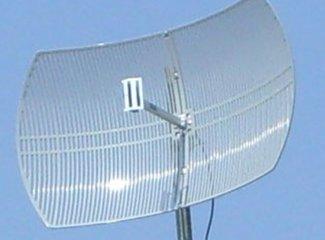 24dbi semigrid parabolic support freq 2 3 2 53 ghz